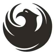 B&W logo for City of Phoenix AZ