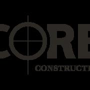 B&W logo for CORE Construction