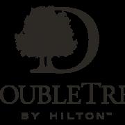 B&W logo for DoubleTree by Hilton