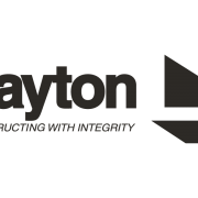 B&W logo for Layton - Constructing with Integrity