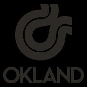 B&W logo for Okland Construction