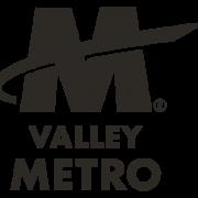 B&W logo for Valley Metro