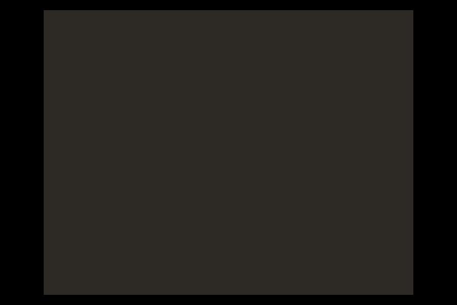ASU Arizona State University logo in B&W