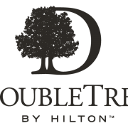 DoubleTree by Hilton Logo in B&W