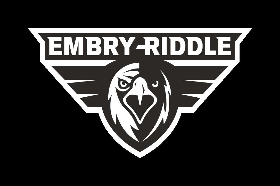 Embry Riddle Logo in B&W