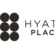 Hyatt Place logo in B&W