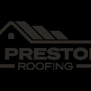 J Preston Roofing logo in B&W