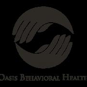 Oasis Behavioral Health Logo in B&W