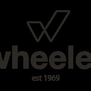 Wheeler (est 1969) logo in B&W